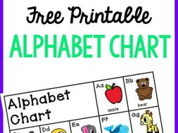 Alphabet Chart By Thereadingroundup Teaching Resources Tes