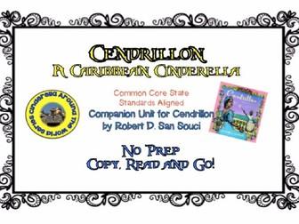Cendrillon: No Prep Novel Unit
