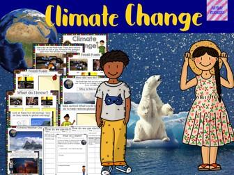 Climate Change non prep lesson