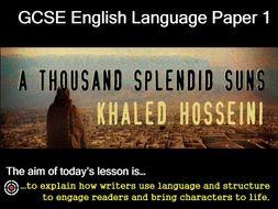 A thousand splendid suns essay