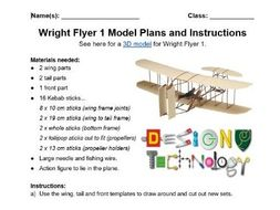 Build a Model Wright Flyer 1 Guide