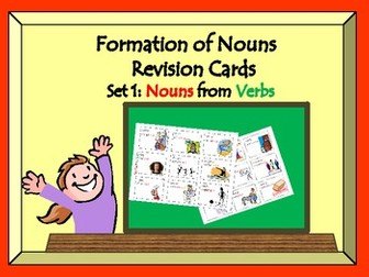 Making Nouns from Verbs