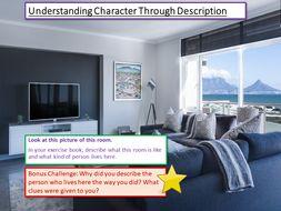 Understanding Character Through Description