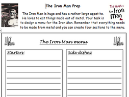 The Iron Man Guided Reading Activities