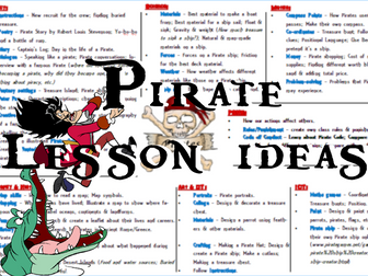 Pirate Lesson Ideas