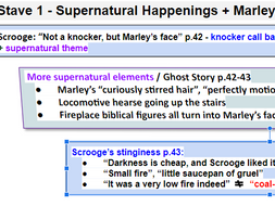 A Christmas Carol - Key Quotes Staves 1-5 | Teaching Resources