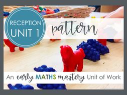 Pattern maths for Early Years planning