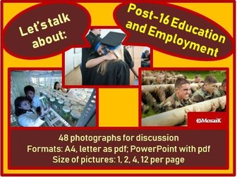 Post-16 Education and Employment : picture cards for discussion