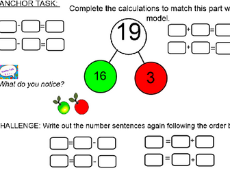 Y2 Block 2 Addition and Subtraction Unit Smart notebook file following ORDER of White Rose Maths