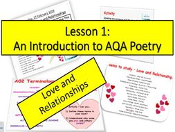 L1 - AQA Anthology (Love&Relationships)