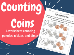 Counting and Adding Coins