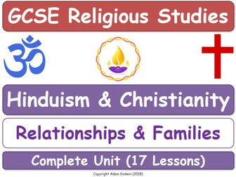 Hinduism & Christianity - Relationships & Families (17 Lessons)