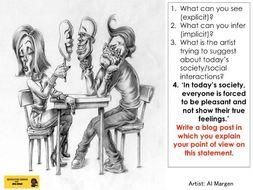 AQA Paper 2 Question 5 Writing Tasks