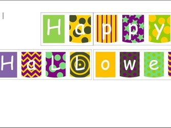 Happy Halloween Celebrations Banner
