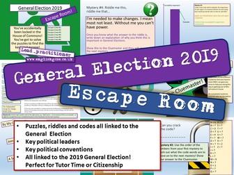 General Election 2019 Escape Room