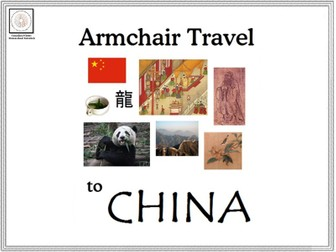 Armchair Travel to China - Card Game