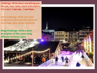 Creative Writing : Winter Creative Writing