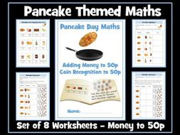 Pancake Day Maths: Money