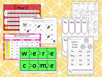 Tricky  Words Activity Pack