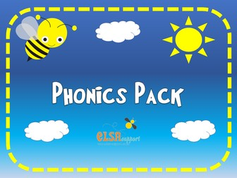 HUGE PACK OF PHONICS RESOURCES