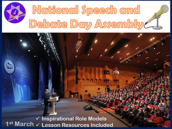 National Speech and Debate Day Assembly
