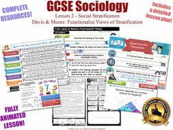 Functionalism & Social Stratification L2/20 [ AQA GCSE Sociology - 8192] [Davis & Moore]