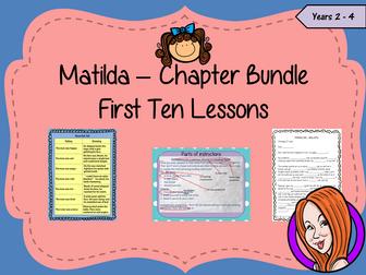 Matilda First 10 Lessons Bundle