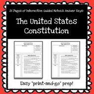 TheUnitedStatesConstitutionInteractiveGuidedNotes.zip