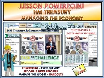 HM Treasury and  Economy - Citizenship