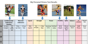 gcse pe 2016 fitness testing recording sheet by jpridmore. Black Bedroom Furniture Sets. Home Design Ideas