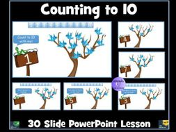 Counting to Ten: PowerPoint Lesson