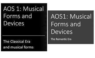 Classical and Romantic Eras - Eduqas AOS1