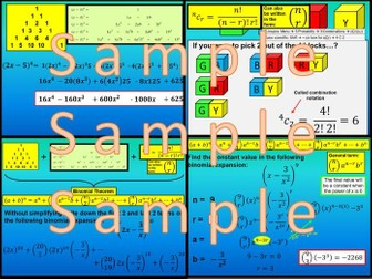 Binomial Expansion - Chapter 7 - International Baccalaureate - Standard Level