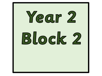 Year 2 - Block 2  Addition and  Subtraction