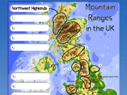 Identifying mountain ranges on a map complete lesson by idj identifying mountain ranges on a map complete lesson gumiabroncs Image collections