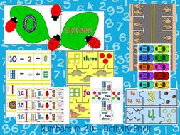 Numbers to 20 Activity Pack
