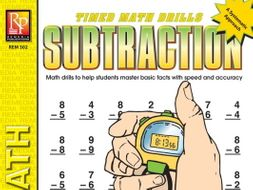 Subtraction: Timed Math Drills