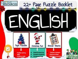 English Christmas Activities
