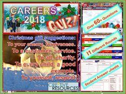 End of term Careers Quiz 2019: Careers Education