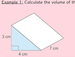 5th Grade Math Volume Worksheets Free Astounding 6th Area And also Volume Worksheets in addition Volume of Triangular Prisms lesson   worksheets by absholmesx together with  besides Finding the volume of prisms and cylinders by charlenewilliams further  likewise Volume of 3D Shapes GCSE Maths Revision and Worksheets   Maths Made besides How To Calculate The Surface Area Of A Rectangular Prism With additionally The surface area and the volume of pyramids  prisms  cylinders and further E Volume Of Rectangular Prisms Maematics Skills On furthermore 41 Volume Of Prisms And Cylinders Worksheet  Quiz Worksheet Finding in addition math volume worksheets – fluxbb info furthermore Volume of 3D Shapes   Triangular Prisms   Cylinder by ryangoldspink likewise  further Volume of triangular prism worksheet also Volume Worksheets. on volume of triangular prism worksheet