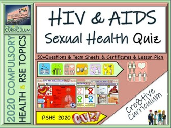 HIV AIDS & Sexual Health Quiz