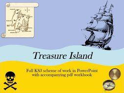 Treasure Island Scheme of Work and PowerPoint Bundle