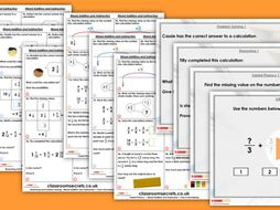 Year 6 Mixed Addition and Subtraction Autumn Block 3 Step 9 Maths Lesson Pack