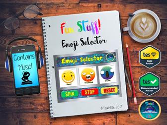 Back to School :   Emoji Selector-Interactive