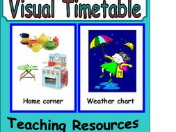 Visual Timetable EYFS KS1
