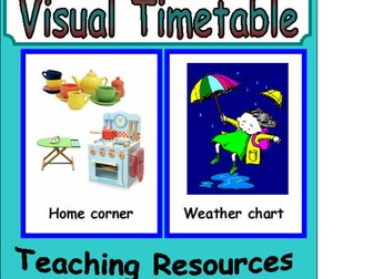 Visual Timetable EYFS KS1