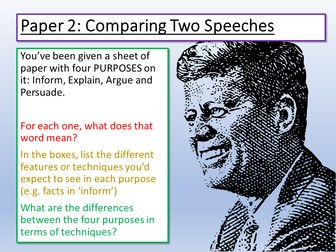 English Language Paper 2 Q2 Summary