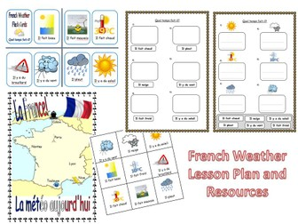 French Weather Lesson KS1/2