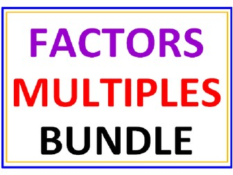 Fun 4th Grade Math Worksheets Excel Search Tes Resources Parts Of A Plant Worksheet Cut And Paste Word with Fact And Opinion Worksheets For 4th Grade Factors And Multiples Bundle  Worksheets Ultimate Frisbee Worksheet Word