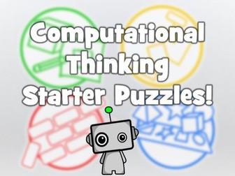 Computational Thinking Starter Puzzles